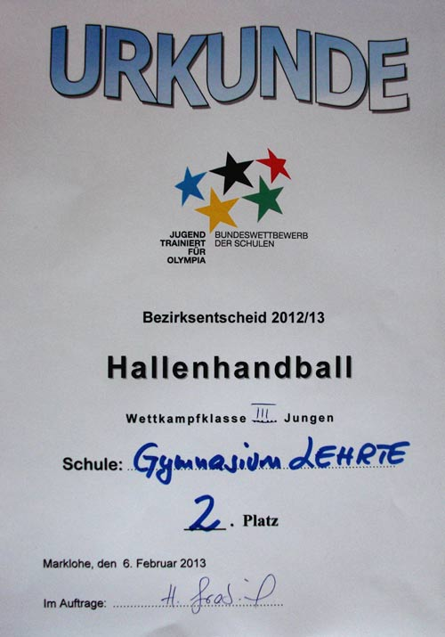 Hanball-Urkunde-web