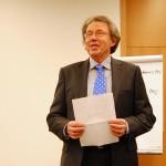 Der stellvertretende Schulleiter Claus Wegener