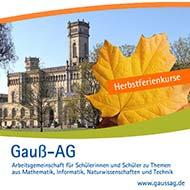 Gauß-AG der Uni Hannover