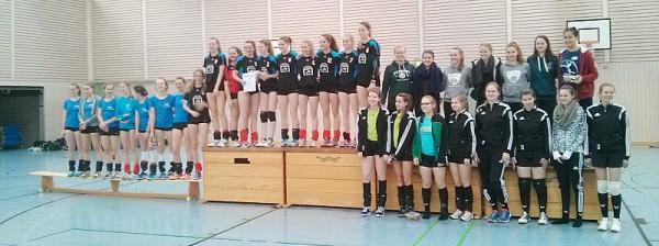 160310 Siegerehrung 2. Platz WK II -web