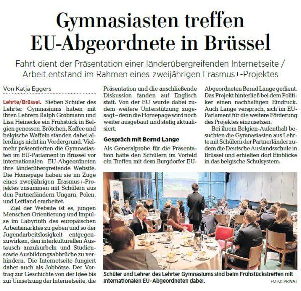 Deutsche kennenlernen in brüssel